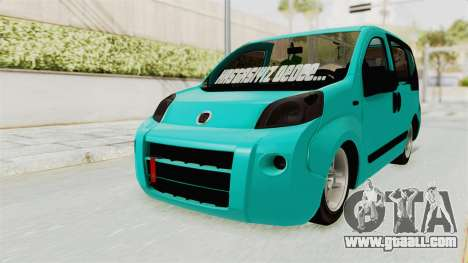Fiat Fiorino v2 for GTA San Andreas right view