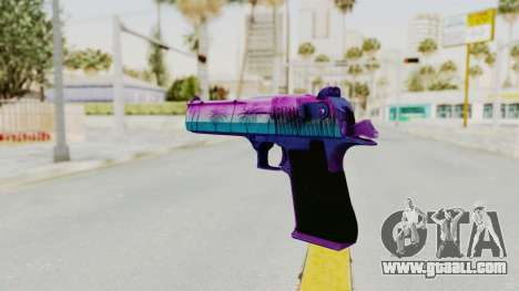 Vice Desert Eagle for GTA San Andreas second screenshot