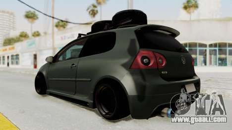 Volkswagen Golf MK5 JDM for GTA San Andreas right view