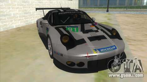 2016 Porsche 911 RSR for GTA San Andreas back view