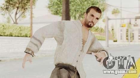 AC Brotherhood - Ezio Auditore Short Hair Civil for GTA San Andreas