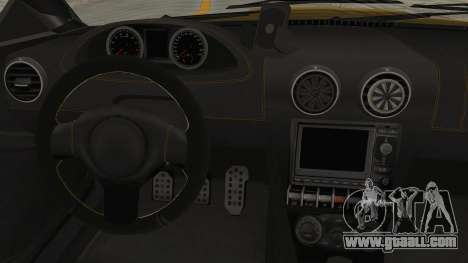 GTA 5 Ocelot F620 SA Lights for GTA San Andreas inner view