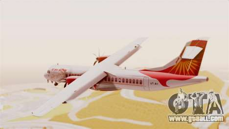 ATR 72-600 Air India Regional for GTA San Andreas left view