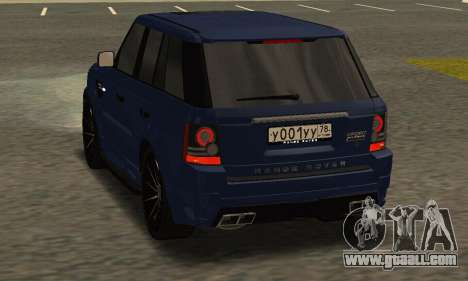 Range Rover Sport Tuning for GTA San Andreas right view