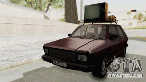 Zastava Yugo Koral 55 for GTA San Andreas right view