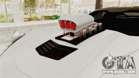 Chevrolet Corvette Stingray C7 Monster Truck for GTA San Andreas back view