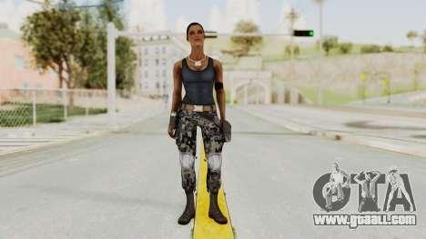 Mortal Kombat X Jacqui Briggs Boot Camp for GTA San Andreas second screenshot