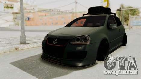 Volkswagen Golf MK5 JDM for GTA San Andreas