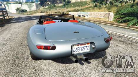GTA 5 Eagle Speedster 2012 rear left side view