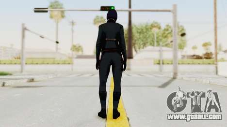 Batman Arkham Origins - Lady Shiva for GTA San Andreas third screenshot