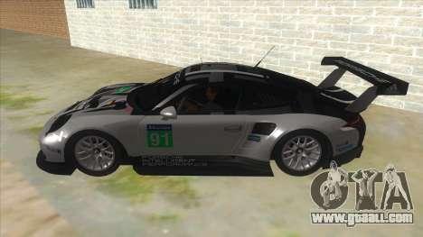 2016 Porsche 911 RSR for GTA San Andreas left view