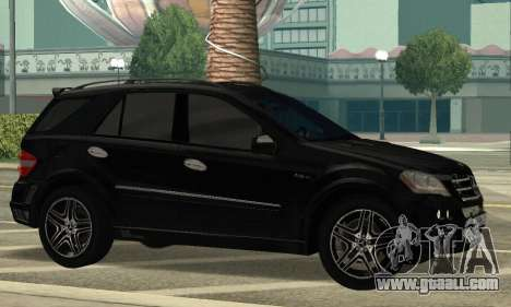 Mercedes-Benz ML 63 AMG for GTA San Andreas left view