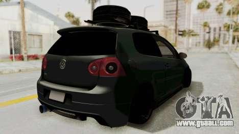 Volkswagen Golf MK5 JDM for GTA San Andreas left view