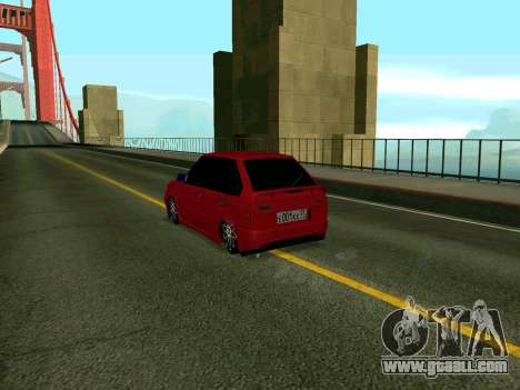 VAZ 2114 KBR for GTA San Andreas left view