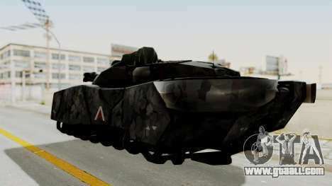 T-470 Hover Tank for GTA San Andreas left view