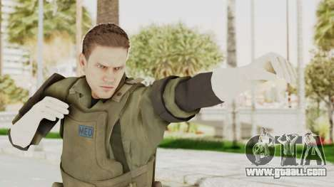 MGSV Ground Zeroes MSF Medic for GTA San Andreas