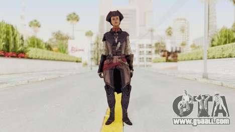 Assassins Creed 4 DLC - Aveline de Grandpré for GTA San Andreas second screenshot