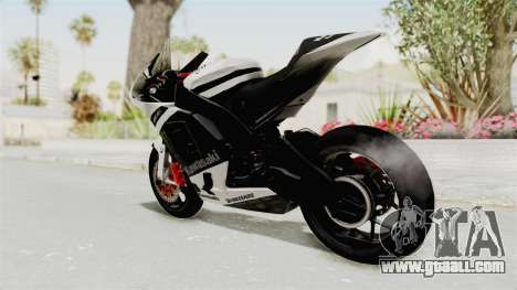 Kawasaki Ninja ZX-RR Streetrace for GTA San Andreas left view