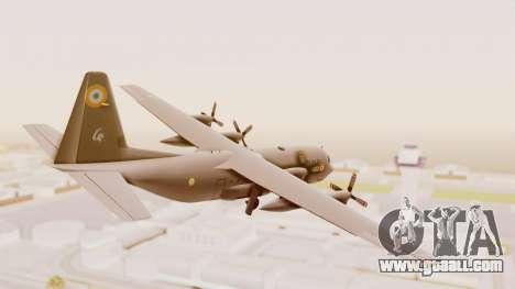 C130 Hercules Indian Air Force for GTA San Andreas left view