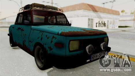 Wartburg 353 Rat Style for GTA San Andreas right view