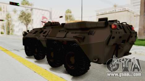 BTR-80 Desert Turkey for GTA San Andreas left view