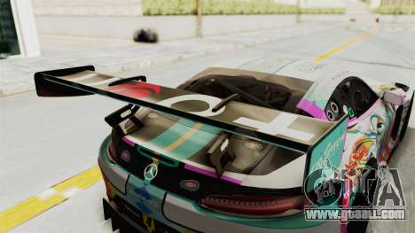 Mercedes-Benz SLS AMG GT3 2016 Goodsmile Racing for GTA San Andreas side view