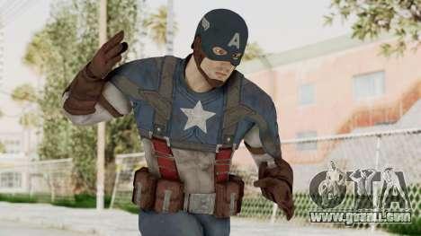 Captain America Civil War - Captain America for GTA San Andreas