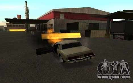 Flip machine for GTA San Andreas forth screenshot