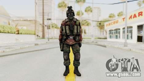 Battery Online Russian Soldier 8 v1 for GTA San Andreas second screenshot