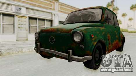 Zastava 750 Rusty for GTA San Andreas right view