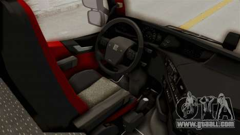 Volvo FM Euro 6 6x4 Tandem v1.0 for GTA San Andreas back view