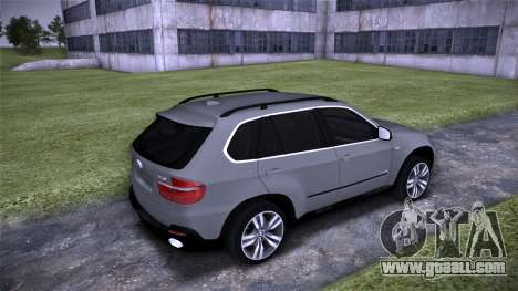 BMW X5 E70 for GTA San Andreas right view