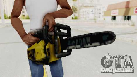 Liberty City Stories Chainsaw for GTA San Andreas