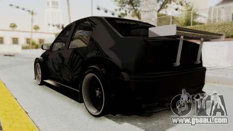 Dacia Logan Loco Tuning for GTA San Andreas left view
