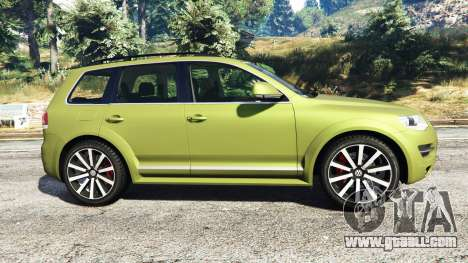 GTA 5 Volkswagen Touareg R50 2008 left side view