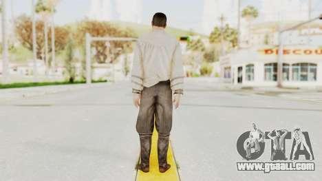 AC Brotherhood - Ezio Auditore Short Hair Civil for GTA San Andreas third screenshot