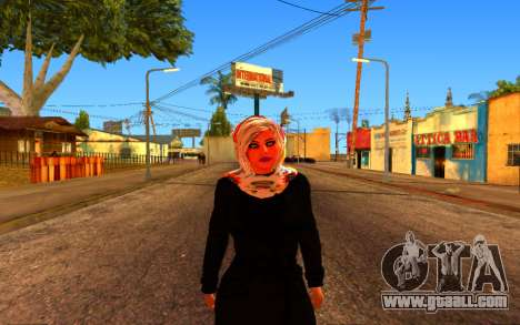 Iranian Girl for GTA San Andreas