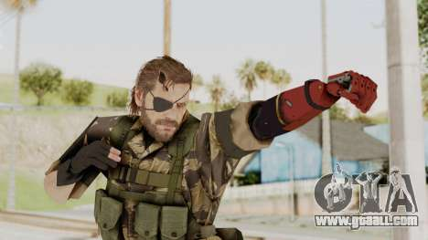 MGSV The Phantom Pain Venom Snake Tiger for GTA San Andreas