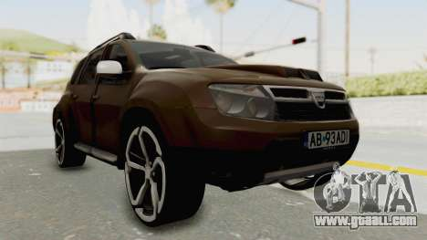 Dacia Duster 2010 Tuning for GTA San Andreas right view