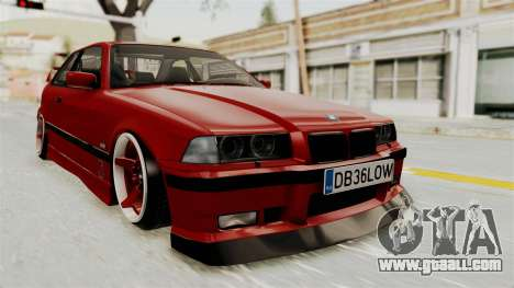 BMW 325i E36 Coupe for GTA San Andreas right view