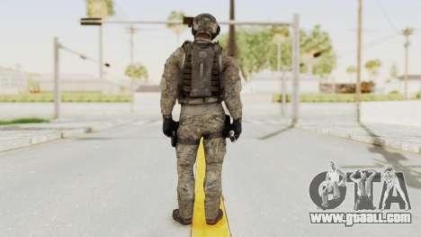 COD MW3 Delta Sandman Custom for GTA San Andreas third screenshot