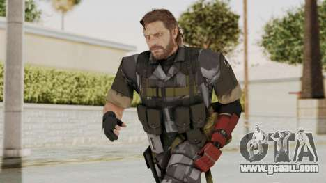MGSV The Phantom Pain Venom Snake No Eyepatch v7 for GTA San Andreas