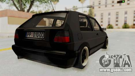 Volkswagen Golf 2 VR6 for GTA San Andreas left view
