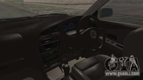 Mitsubishi Lancer Evolution VI Tenryuu Itasha for GTA San Andreas inner view
