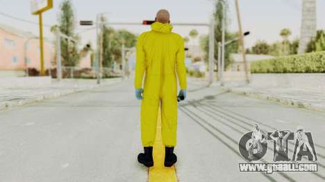 Walter White Heisenberg GTA 5 Style for GTA San Andreas third screenshot