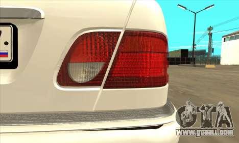 Mercedes-Benz E420 W210 for GTA San Andreas right view