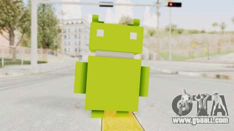 Crossy Road - Android Robot for GTA San Andreas second screenshot