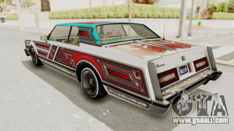 GTA 5 Dundreary Virgo Classic Custom v3 IVF for GTA San Andreas wheels