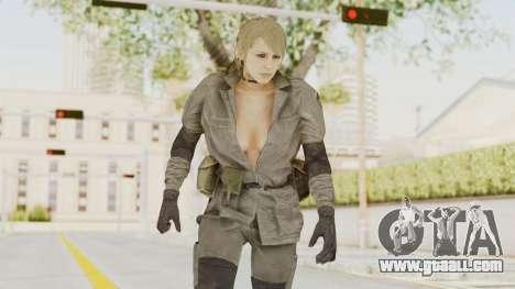 MGSV Phantom Pain Quiet Sniper Wolf for GTA San Andreas
