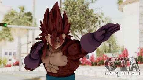 Dragon Ball Xenoverse Vegito SSJ4 for GTA San Andreas
